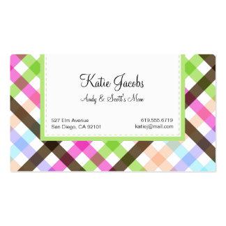 Social Calling Cards Business Card Templates