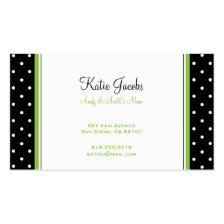 Social Calling Cards Business Cards