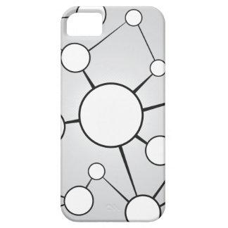 Social Circles Diagram Design iPhone 5 Cover