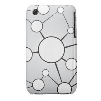 Social Circles Diagram Design Case-Mate iPhone 3 Cases