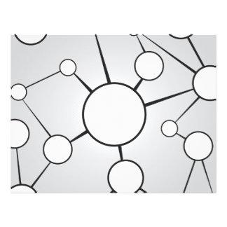 Social Circles Diagram Design Flyer