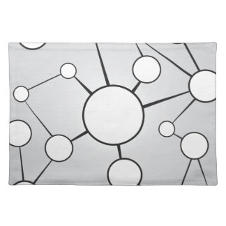 Social Circles Diagram Design Placemat
