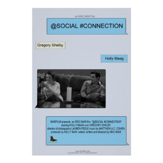 @Social #Connection Poster