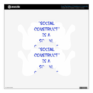 """""""Social Construct"""" is a social construct. Skins For PS3 Controllers"""