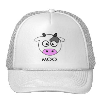 Social Cow - Cow - Icon Trucker Hat