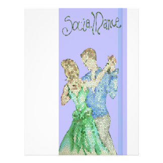 social dance flyer