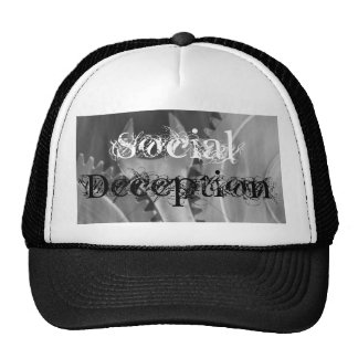 Social deception Wrench in the machine cap