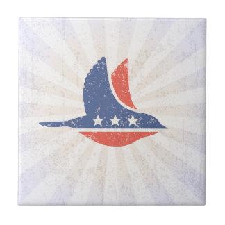 Social Democrat Logo Ceramic Tile
