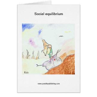 Social equilibrium card
