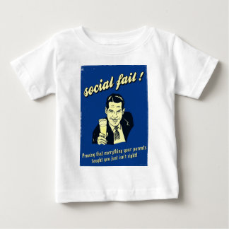 social fail baby T-Shirt