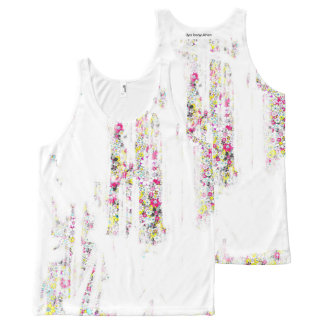 Social flowers #1 All-Over-Print tank top