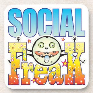 Social Freaky Freak Drink Coasters