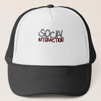 Social Interaction Trucker Hat