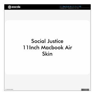 Social Justice 11Inch Macbook Air Skin