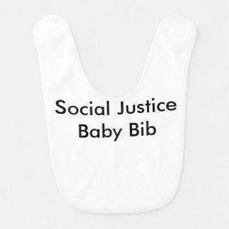 Social Justice Baby Bib