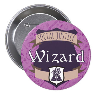 Social Justice Class Button: Wizard Button
