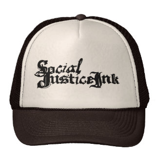Social Justice Ink Hat (tan and brown)
