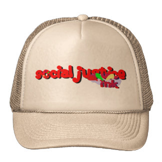 Social Justice Ink Paint Hat (beige)