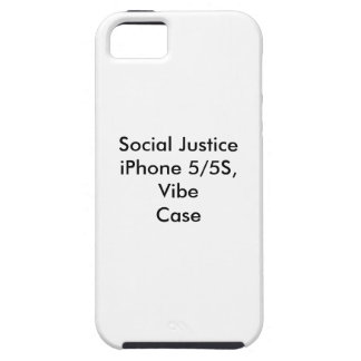 Social Justice iPhone 5/5S,  Vibe Case