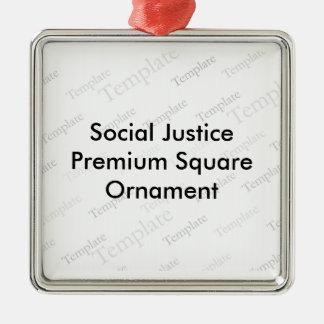 Social Justice Premium Square Ornament