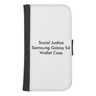 Social Justice Samsung Galaxy S4 Wallet Case