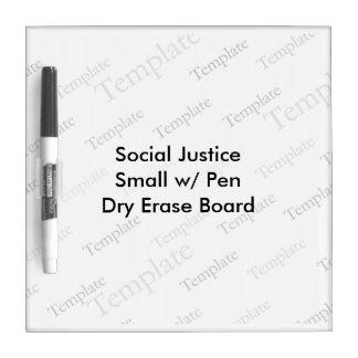 Social Justice Small w Pen Dry Erase Board