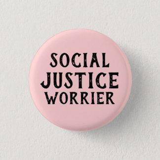 SOCIAL JUSTICE WORRIER BUTTON