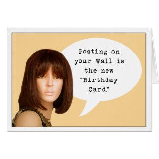 Social Media Birthday Greeting Cards