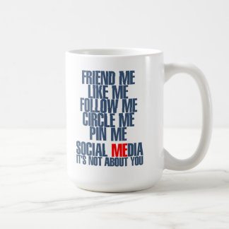 Social MEdia Coffee Mug