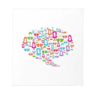 Social Media Communication Speech Bubble Notepad