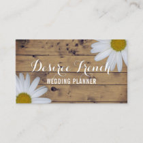 Social Media | Daisy Wildflowers Wedding Planner Business Card