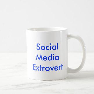 Social Media Extrovert Mug