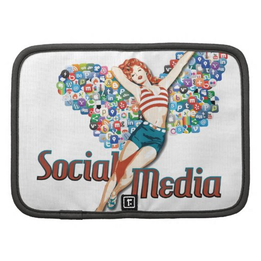 Social Media fairy pin-up Organizer