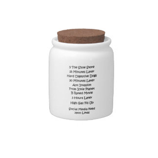 Social Media Feed Candy Jar