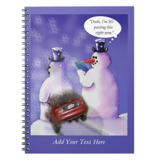 Social Media Humor Notebook