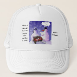 Social Media Humor Trucker Hat