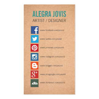 Instagram Business Cards & Templates