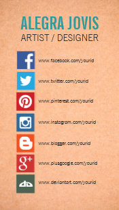 Social media icons business cards zazzle social media icons symbols business card colourmoves