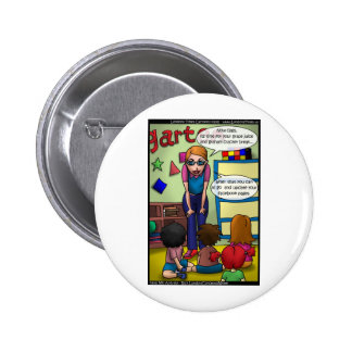 Social Media In Kindergarten Funny Gifts & Tees Buttons