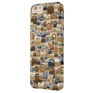 Social Media Interaction Barely There iPhone 6 Plus Case