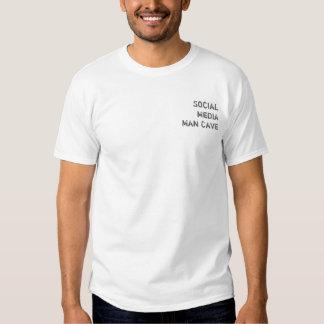 Social Media Man Cave Rockin' T Shirt