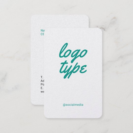 Social media minimalist business card template zazzle social media minimalist business card template accmission Choice Image