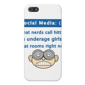 Social Media Nerd Case For iPhone SE/5/5s