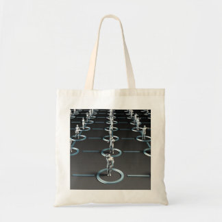 Social Media Network and Interaction Tote Bag