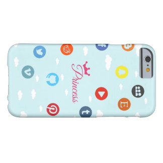 Social Media Princess Barely There iPhone 6 Case