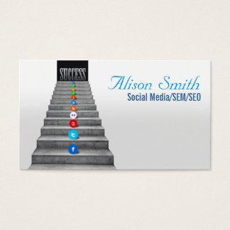 Social Media/SEM/SEO Business Card