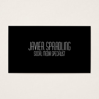 Social Media Specialist Business Cards