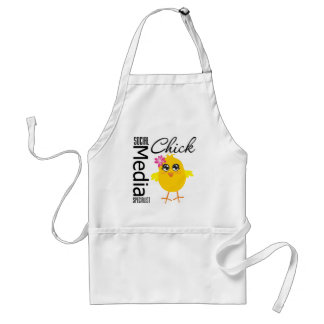 Social Media Specialist Chick Adult Apron