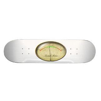 Social-Meter Skateboard Deck