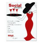 Social Mixer Card